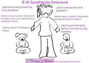 socialización emocional diferenciada