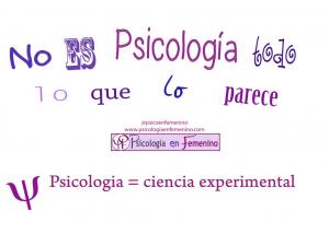 No es psicologia todo lo que lo parece